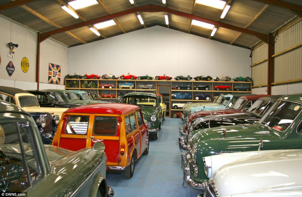 british dentist sells his private car collection to jaguar top speed