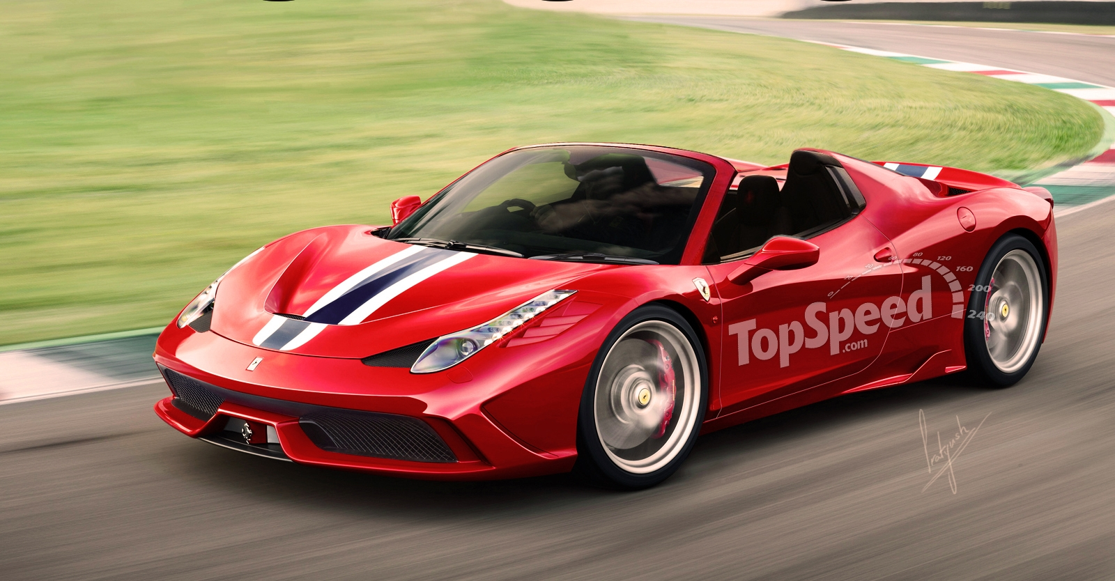 report  ferrari 458 speciale spider limited to 458 units