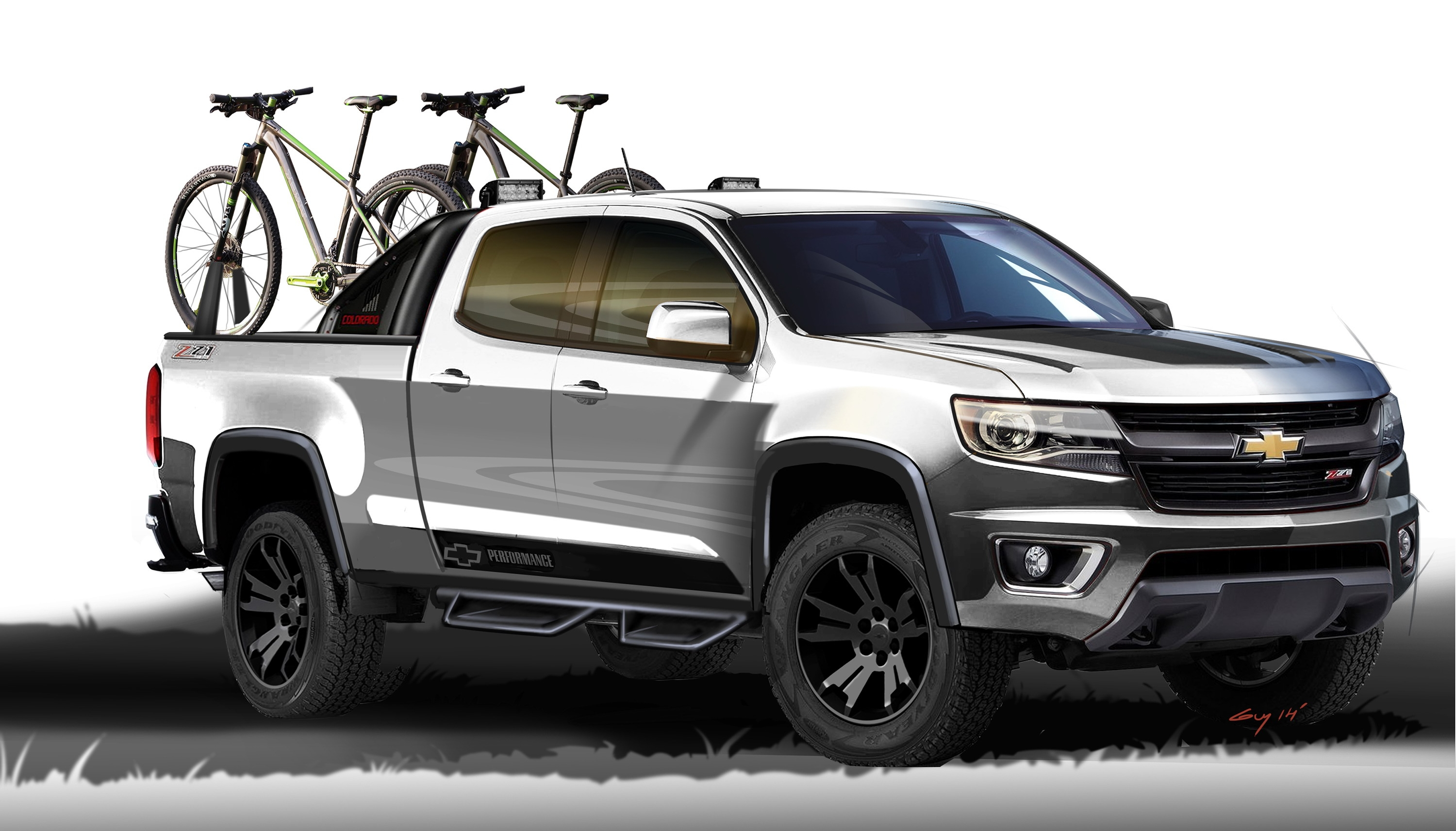 2015 chevrolet colorado sport concept review top speed. Black Bedroom Furniture Sets. Home Design Ideas