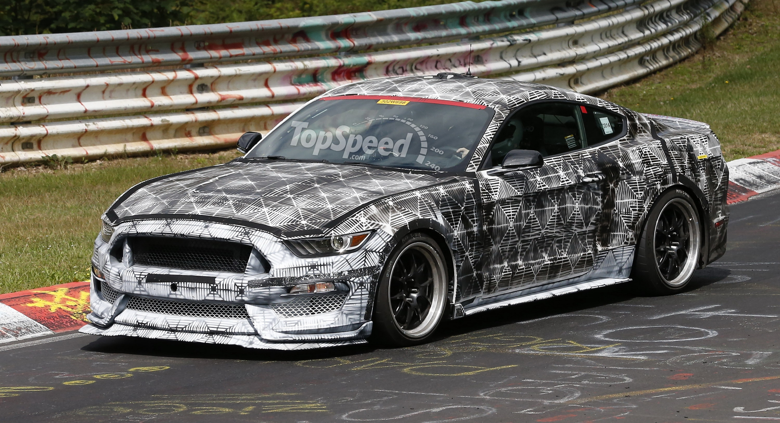 Ford Shelby Mustang Gt350 To Get A 5 2 Liter Flat Plane