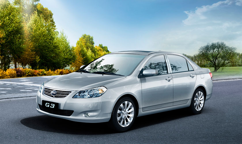2014 BYD G3 | Top Speed