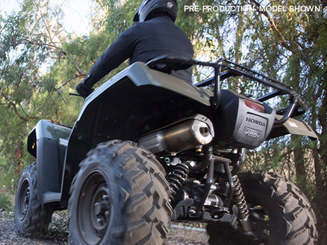 2015 honda fourtrax foreman rubicon 4x4 review top speed for Honda oxford al