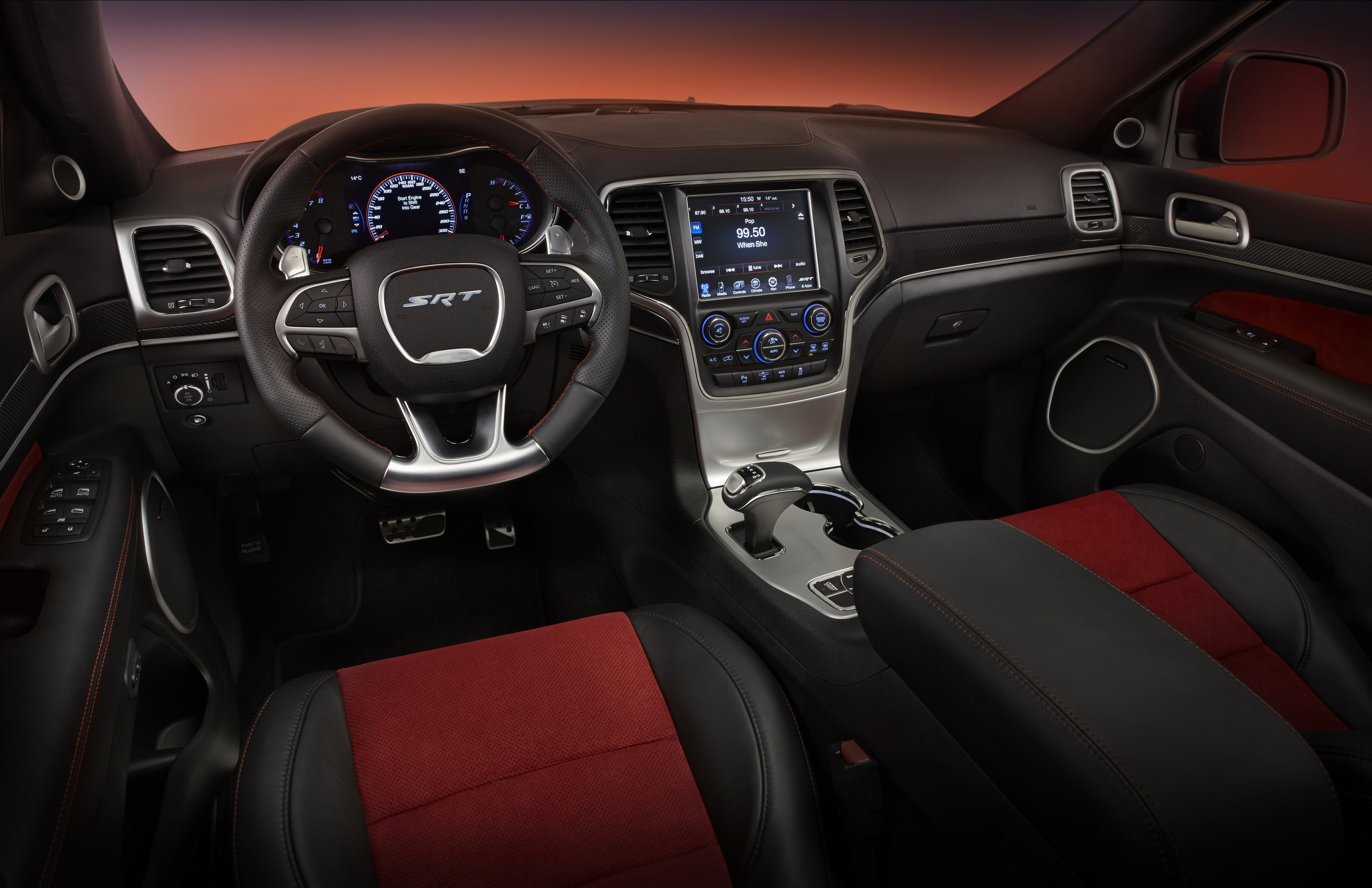 2015 jeep grand cherokee srt red vapor limited edition review top speed. Black Bedroom Furniture Sets. Home Design Ideas