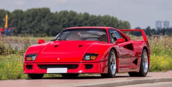 Nigel Mansell\u0027s Ferrari F40 Sells For $870k Pictures, Photos
