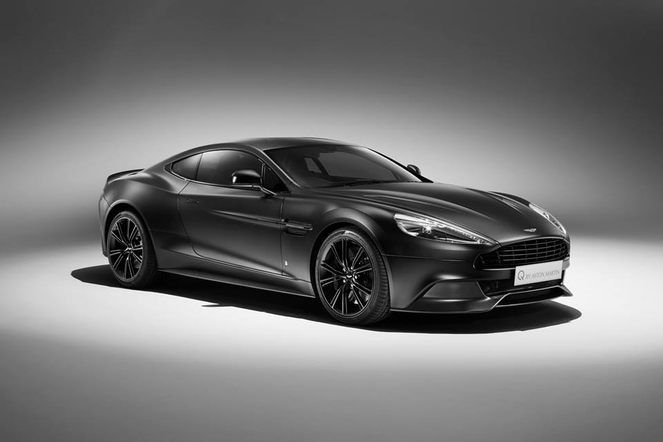 2015 Q By Aston Martin Vanquish Coupe Satin Jet Black Top Speed