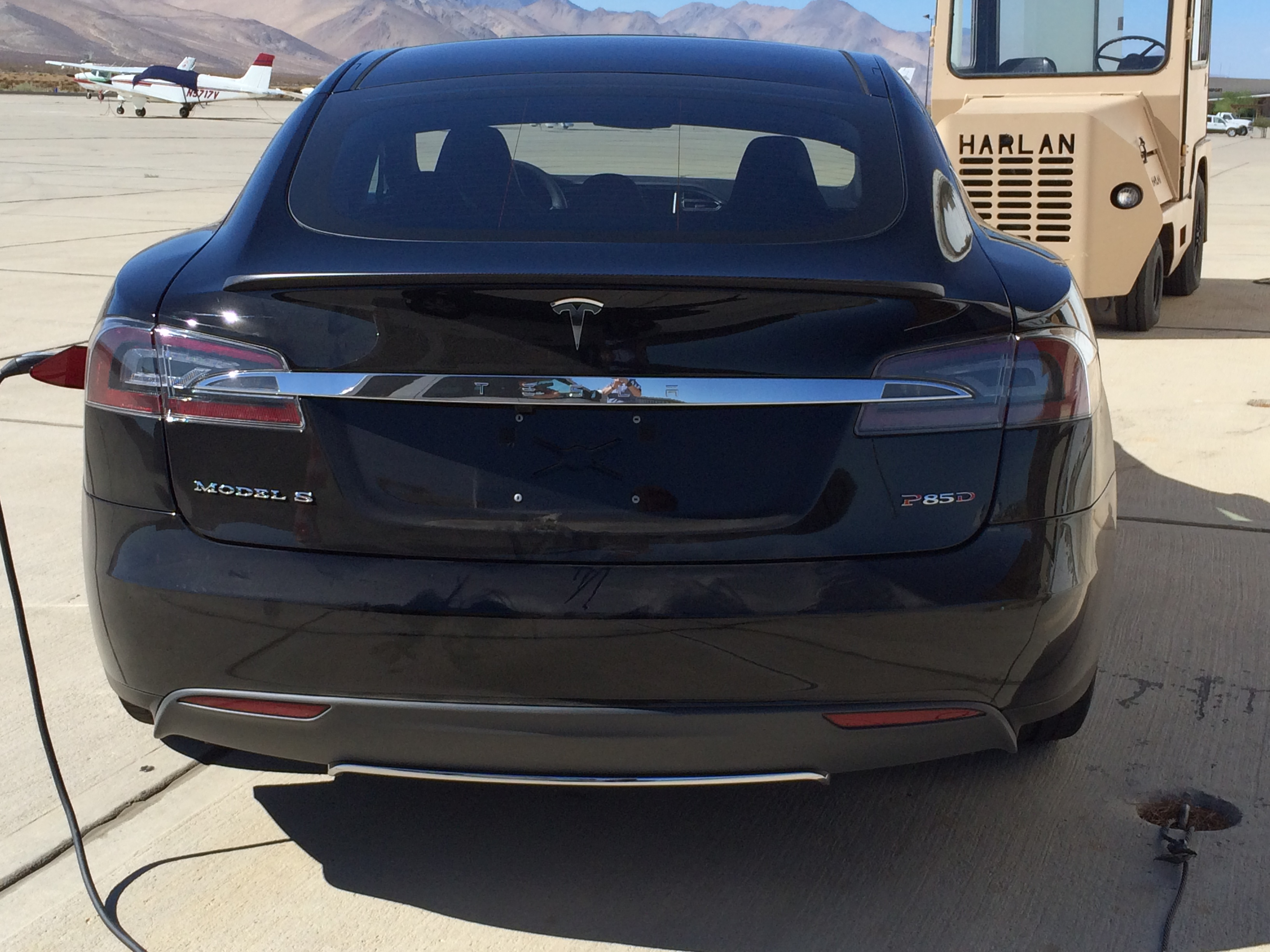 2015 Tesla Model S P85D | Top Speed