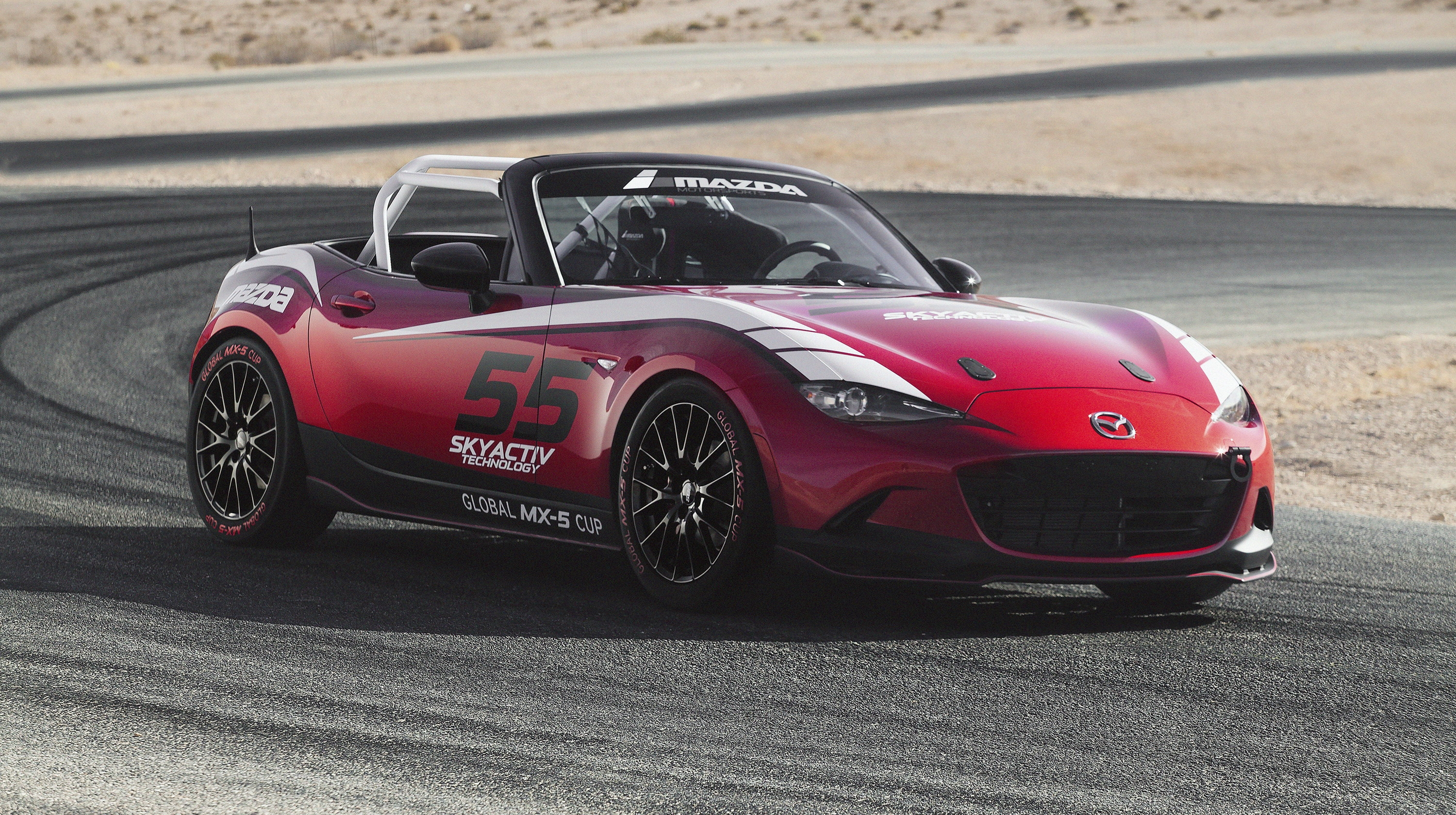 2015 mazda mx 5 cup racecar review gallery top speed. Black Bedroom Furniture Sets. Home Design Ideas