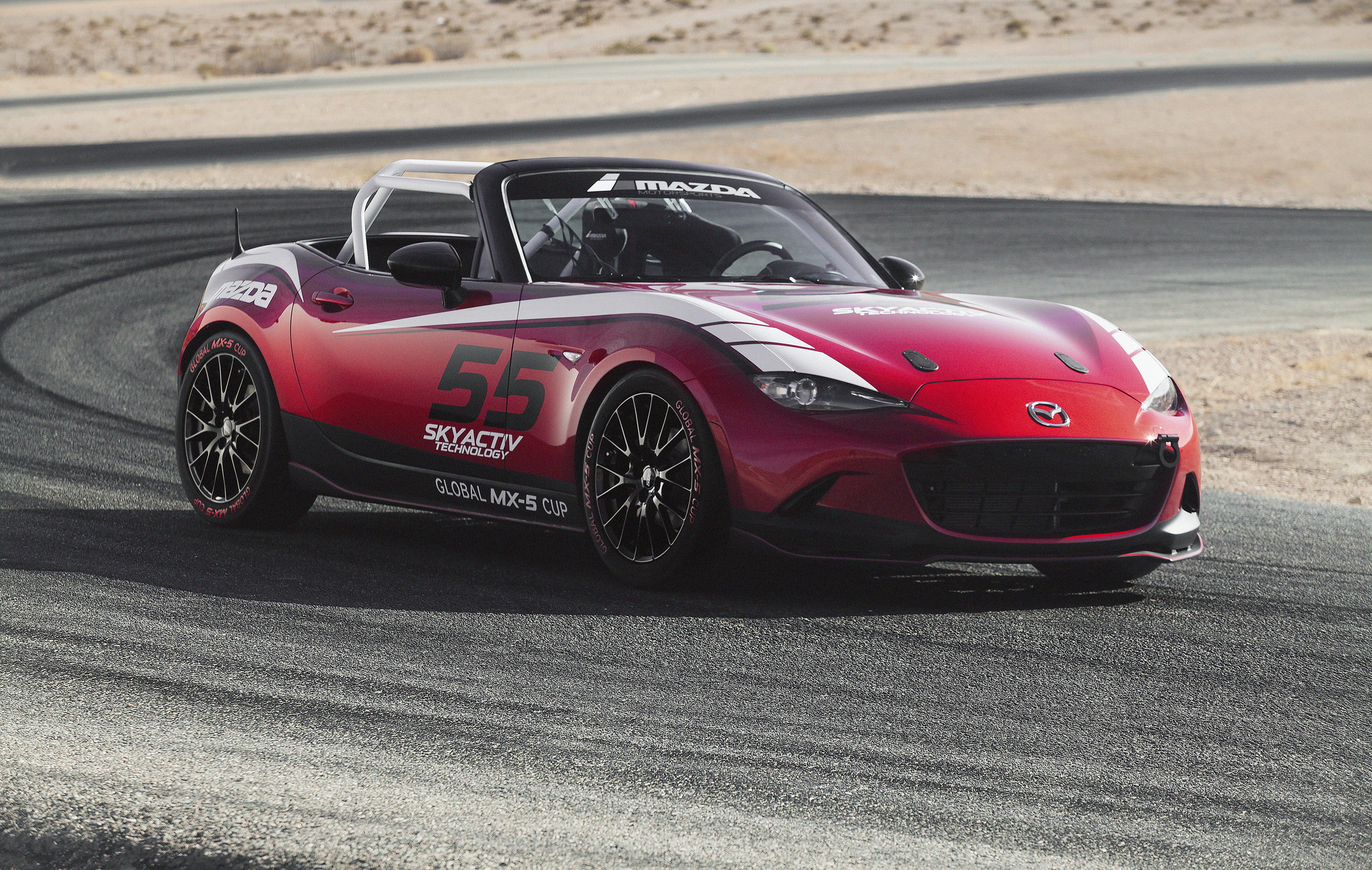 2016 mazda mx-5 miata cup race car