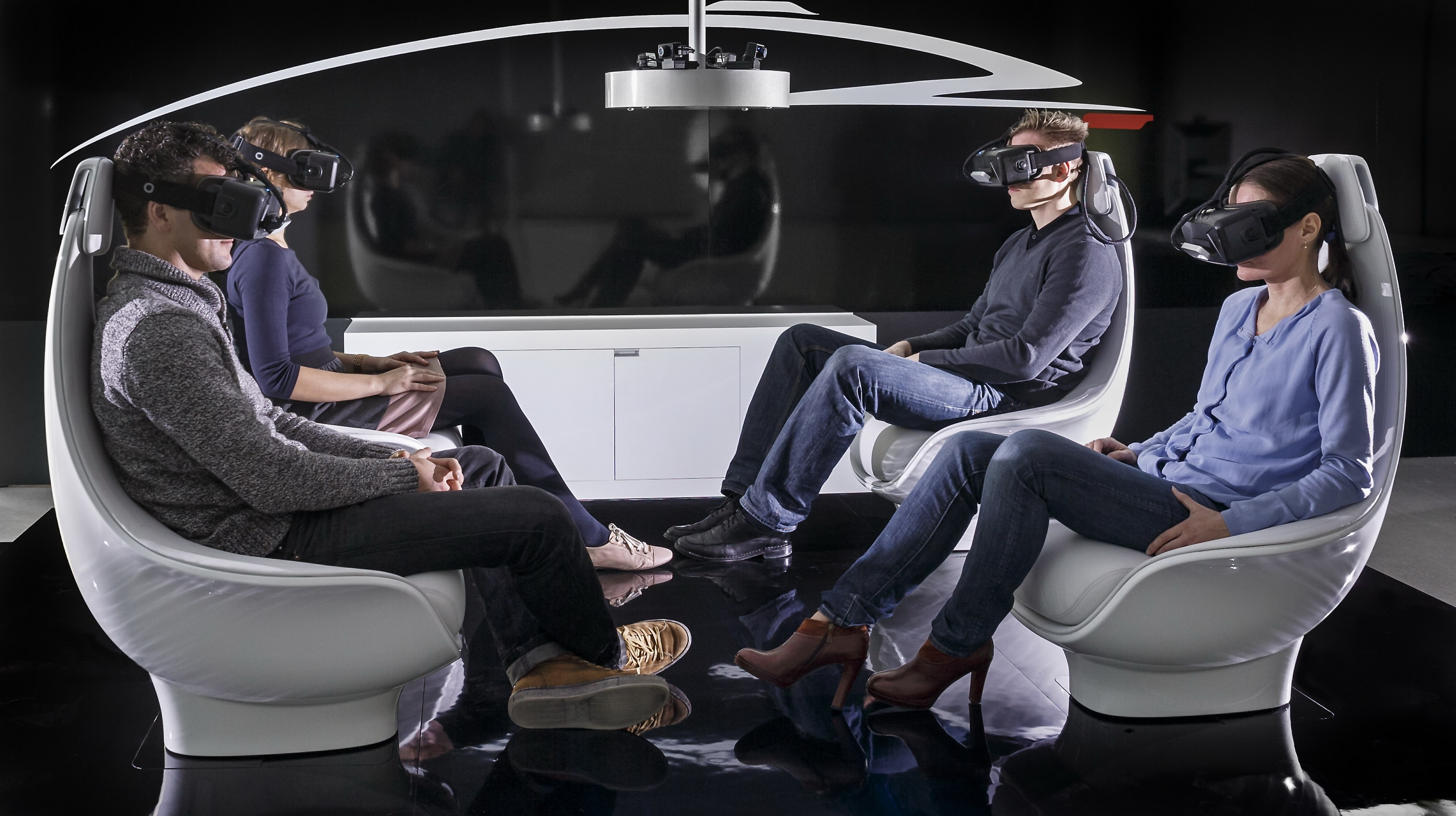Mercedes Benz Previews The Interior Of Its Future Autonomous Cars