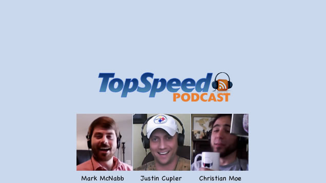 "TopSpeed Podcast Episode 013 - ""Audi, Porsche and Nissan, Oh My!"""