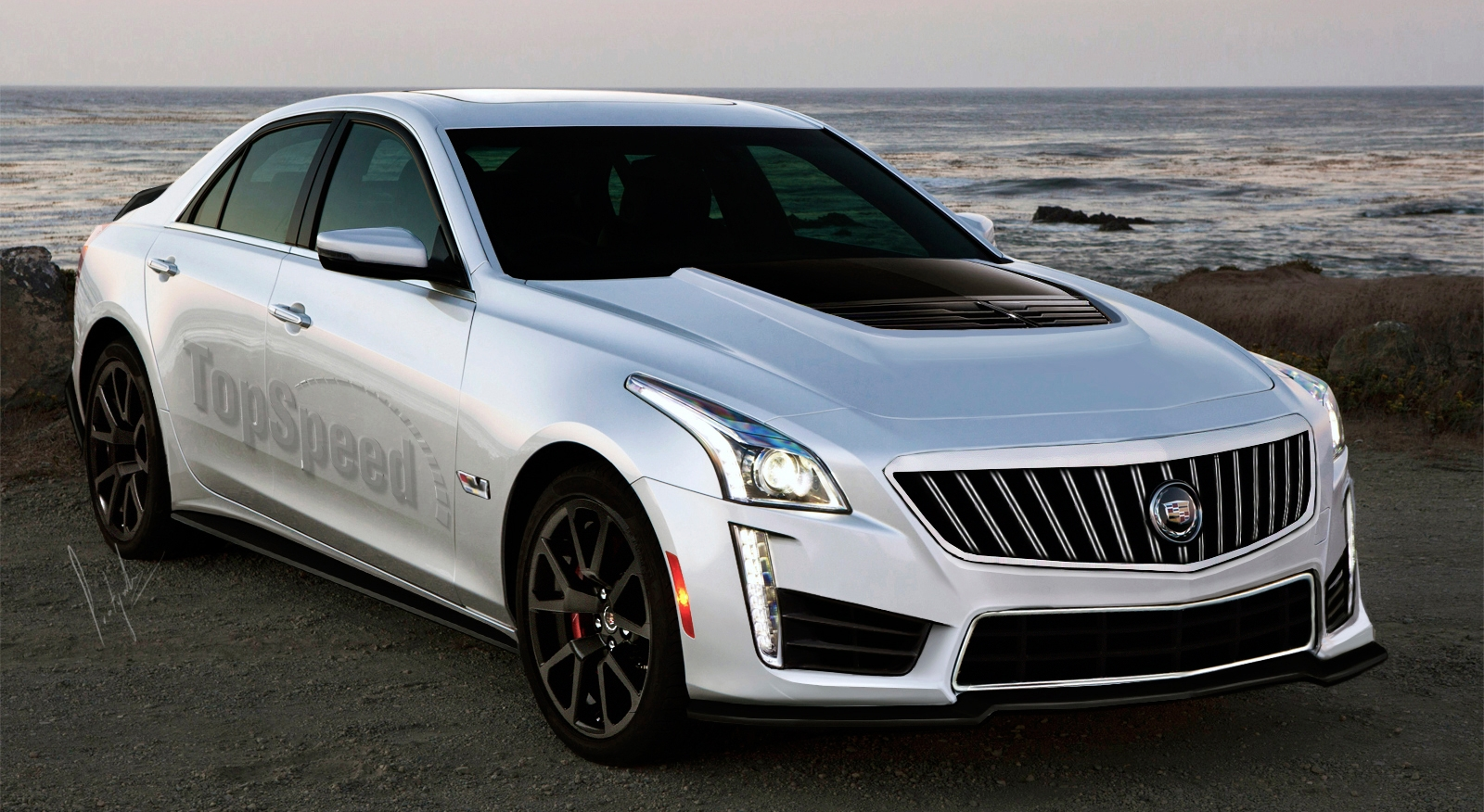 2016 Cadillac Cts V Gallery 599261 Top Speed