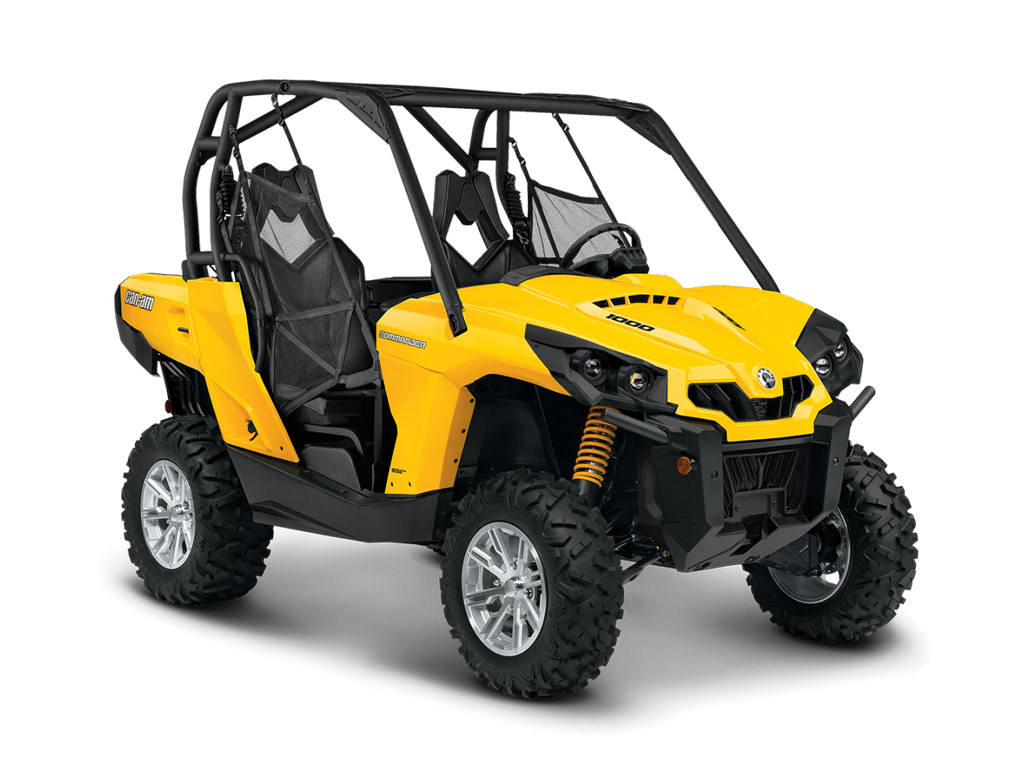 2015 Can-Am Commander DPS | Top Speed. »