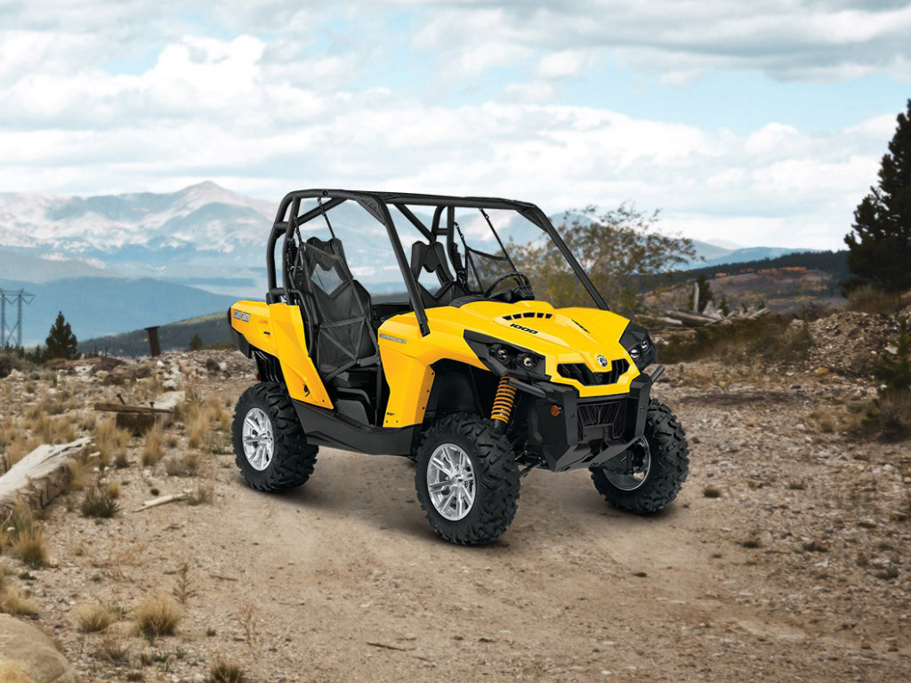 2015 Can-Am Commander DPS | Top Speed