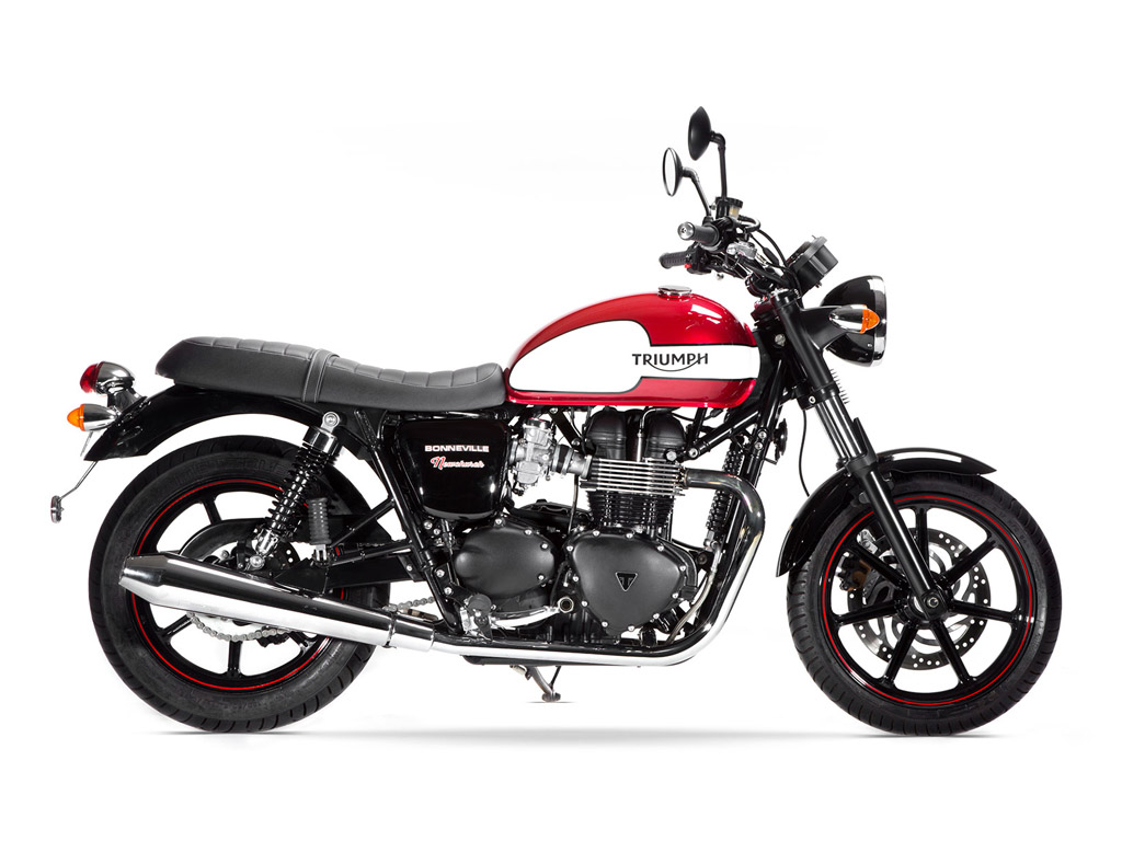 2015 Triumph Bonneville Newchurch Special Edition Top Speed
