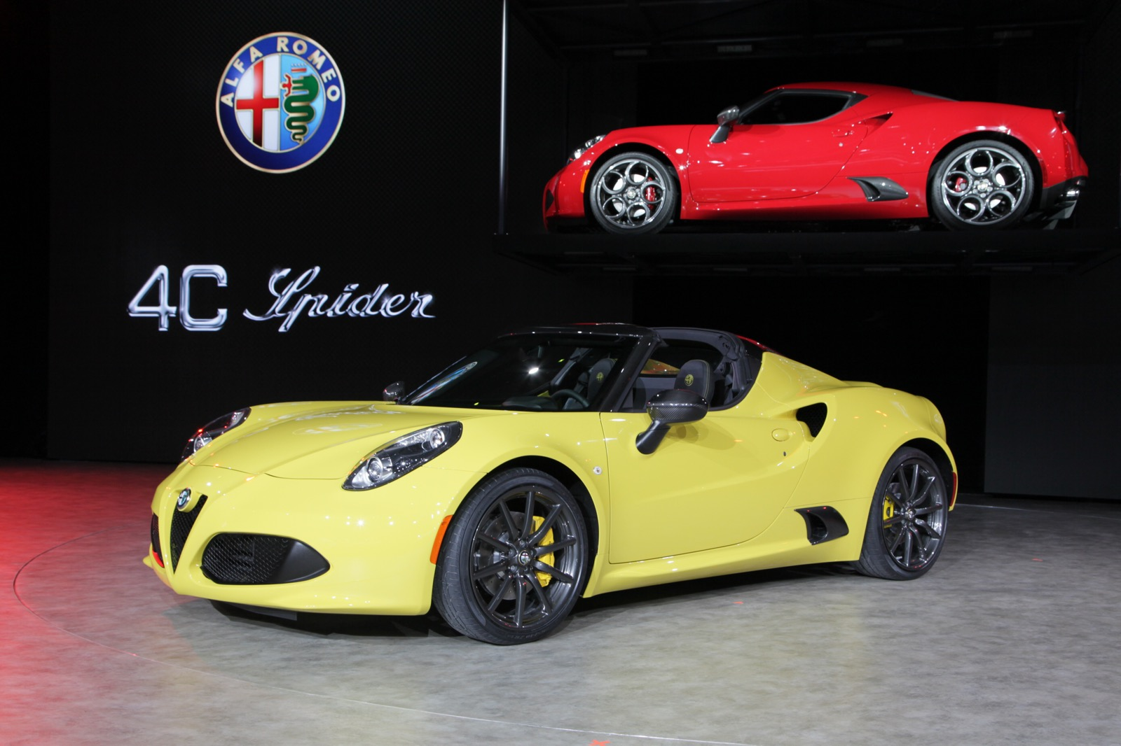 2016 alfa romeo 4c spider review top speed. Black Bedroom Furniture Sets. Home Design Ideas
