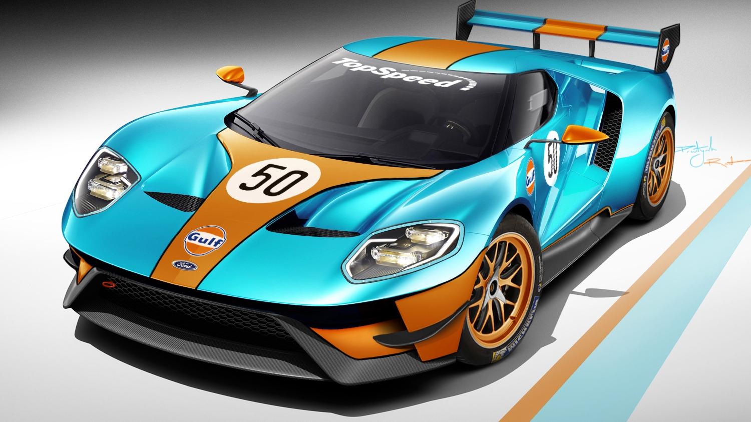 Ford Gt Could Race At Le Mans And This Is What It Would Look Like Top Speed