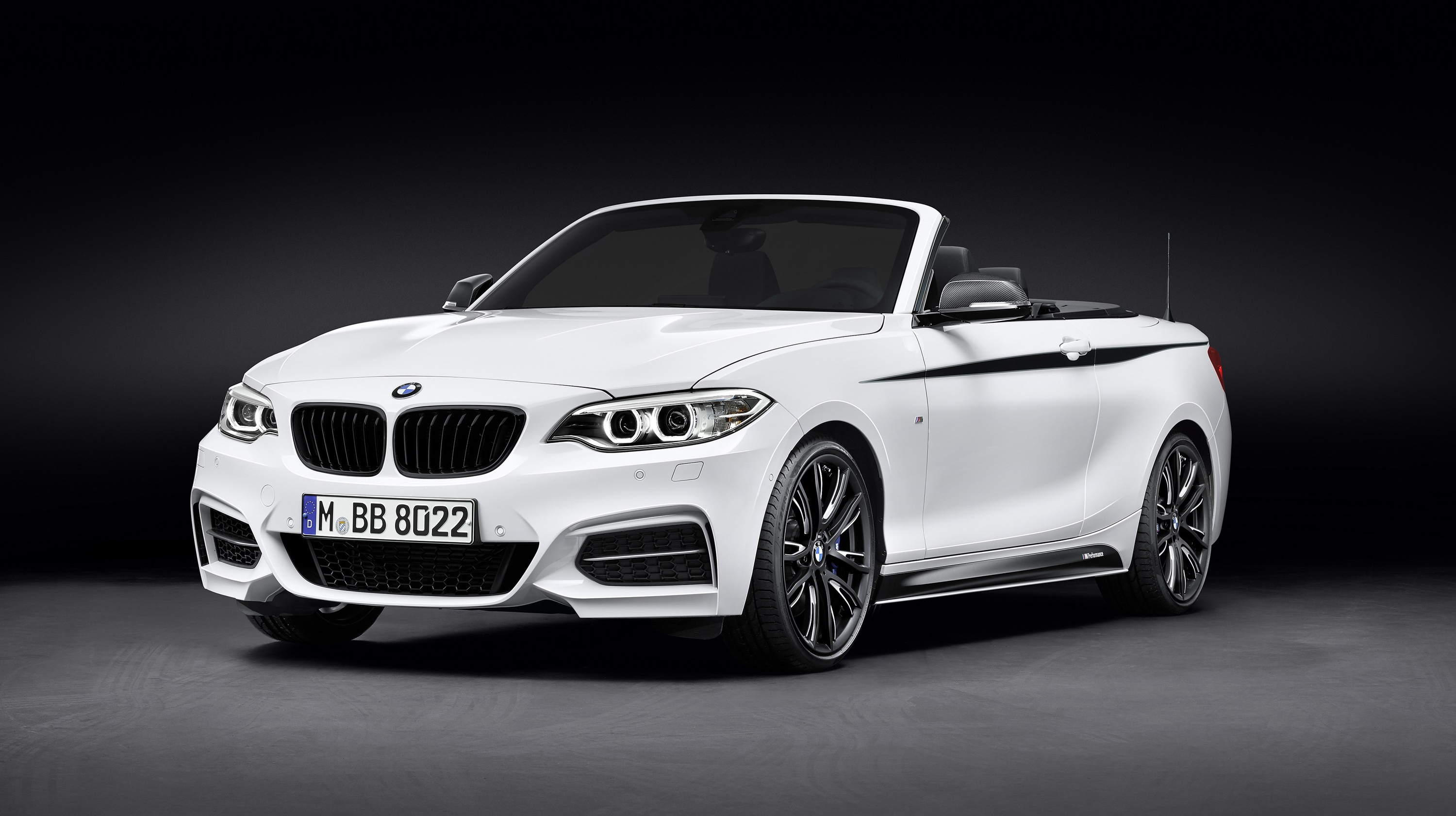 2015 bmw 220d cabrio with m performance parts top speed. Black Bedroom Furniture Sets. Home Design Ideas