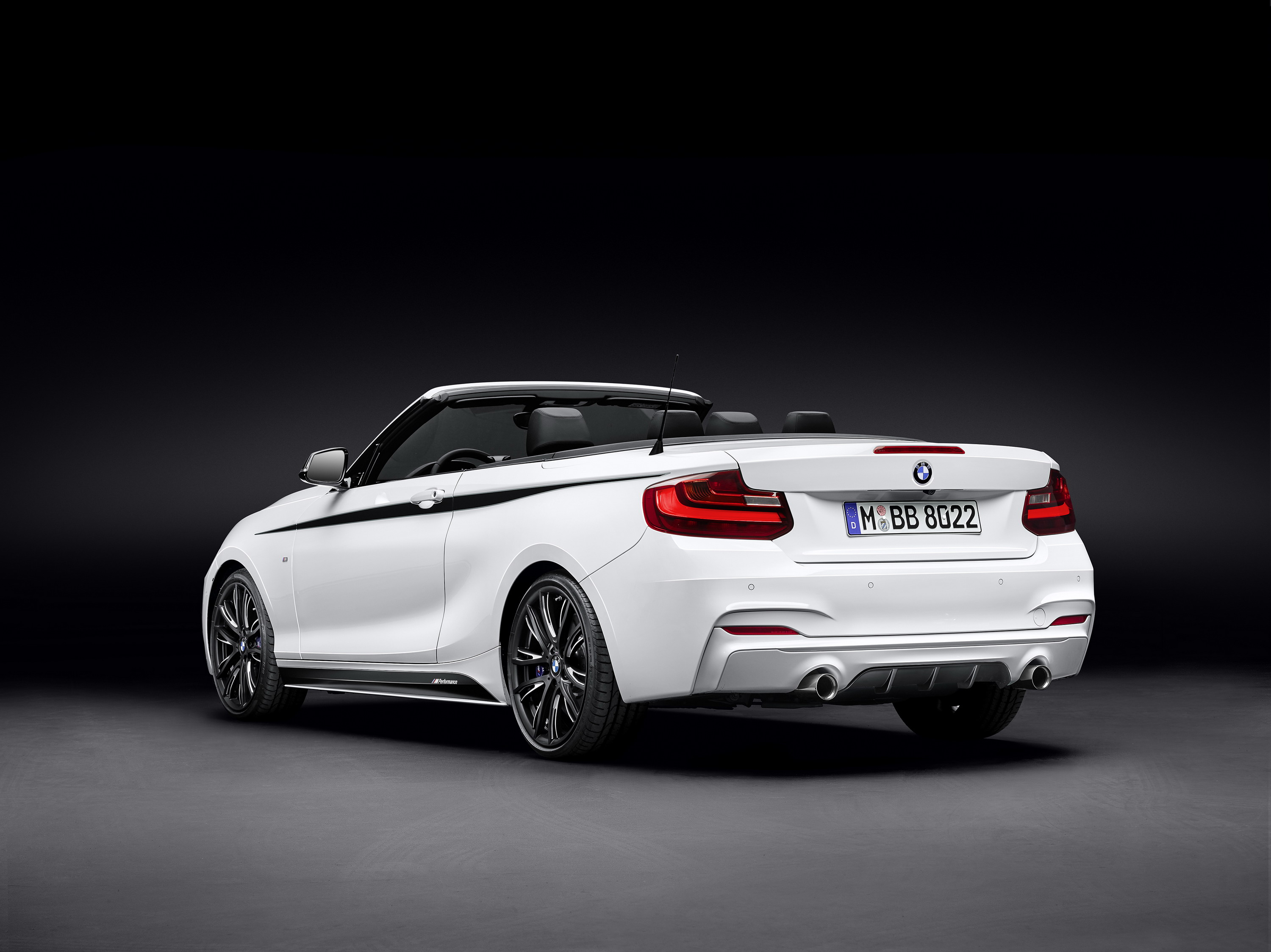 2015 bmw 220d cabrio with m performance parts gallery. Black Bedroom Furniture Sets. Home Design Ideas