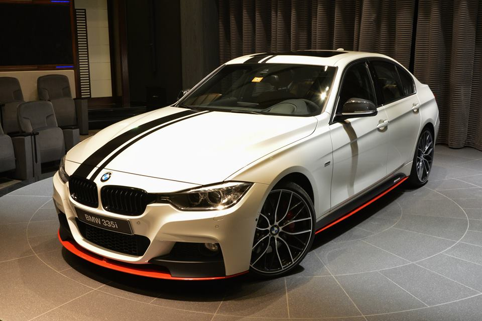 bmw 335i performance series f30 tuning accessories edition power dhabi abu kit parts complete shows arsenal hp custom tuned racing