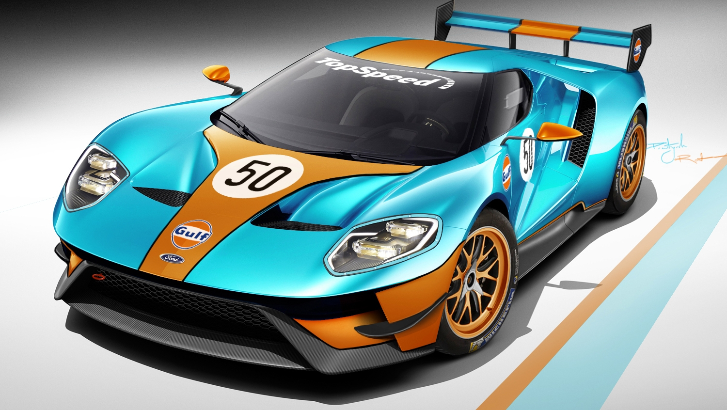 race version of the ford gt will debut at le mans news. Black Bedroom Furniture Sets. Home Design Ideas