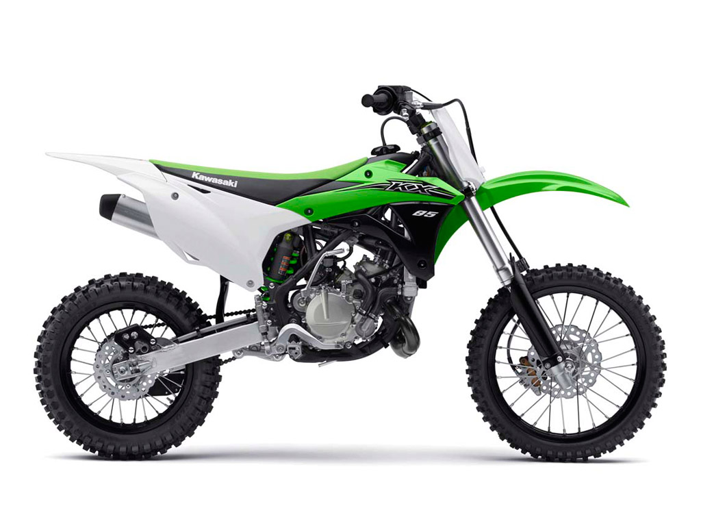 Review of Kawasaki KX 85-I 2018: pictures, live photos