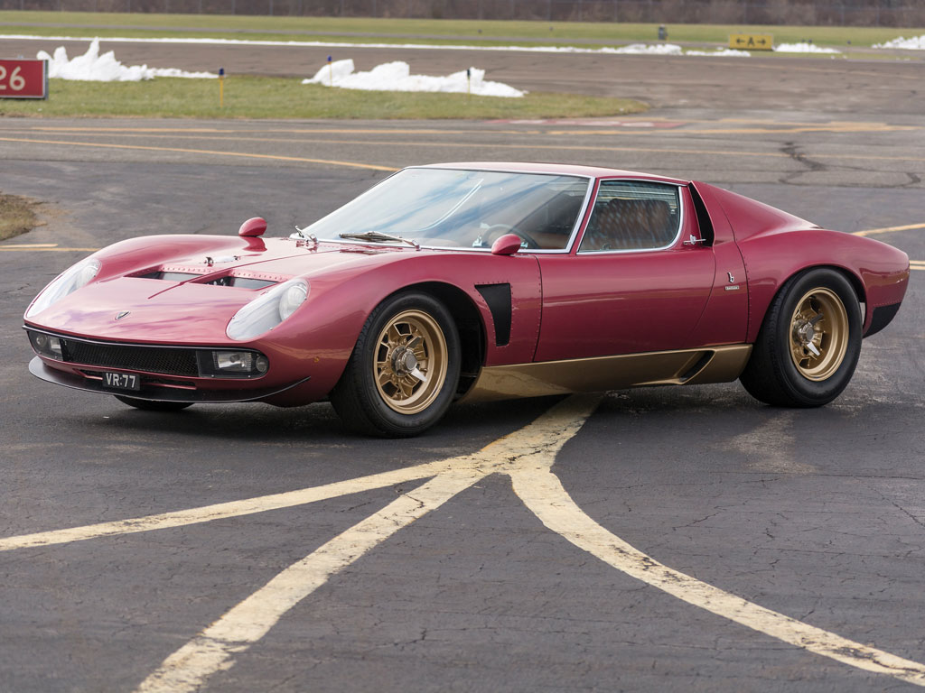 1971 Lamborghini Miura Svj By Bertone Top Speed