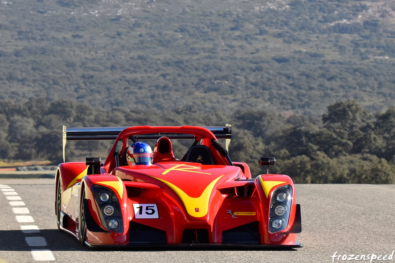 2015 Radical RXC Spyder Review - Top Speed