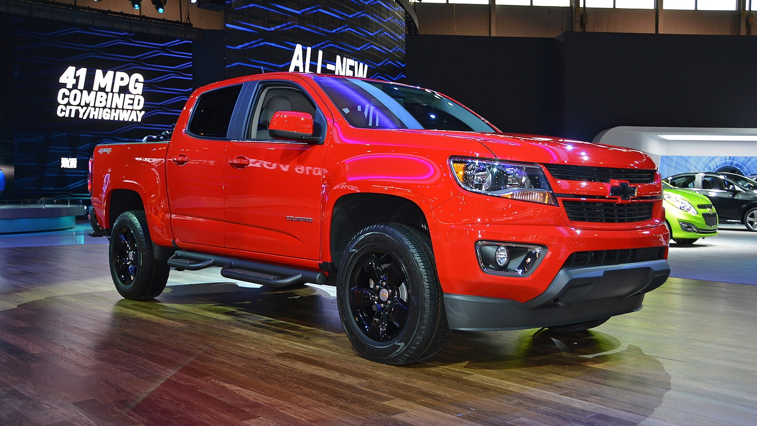 2015 chevrolet colorado gearon special edition pictures photos wallpapers top speed. Black Bedroom Furniture Sets. Home Design Ideas