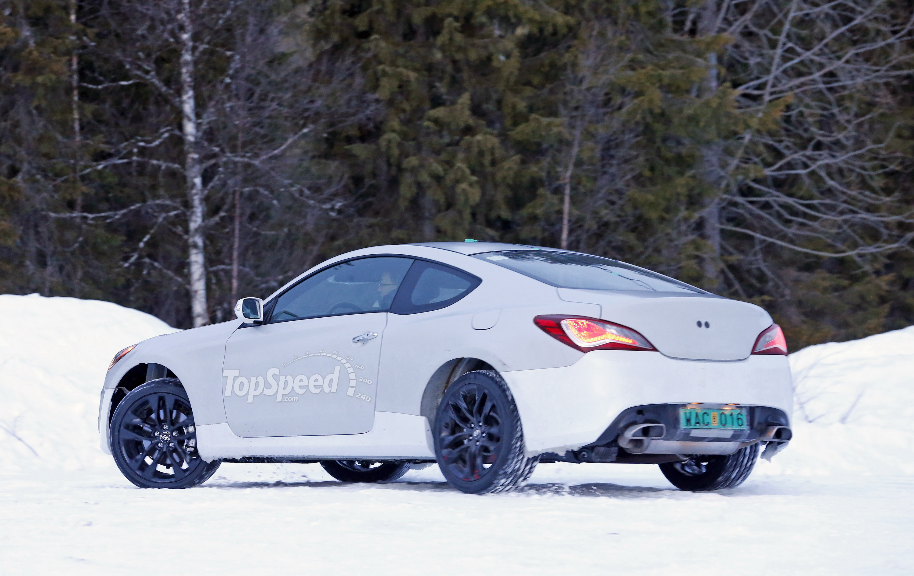 2016 Hyundai Genesis Coupe Top Speed
