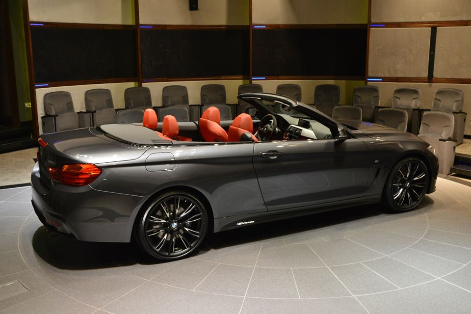 2015 BMW 4 Series Convertible With M Performance Power Kit Review