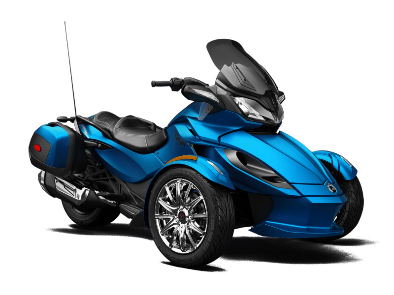 Types Of Motorcycles >> 2015 Can-Am Spyder ST Limited | Top Speed