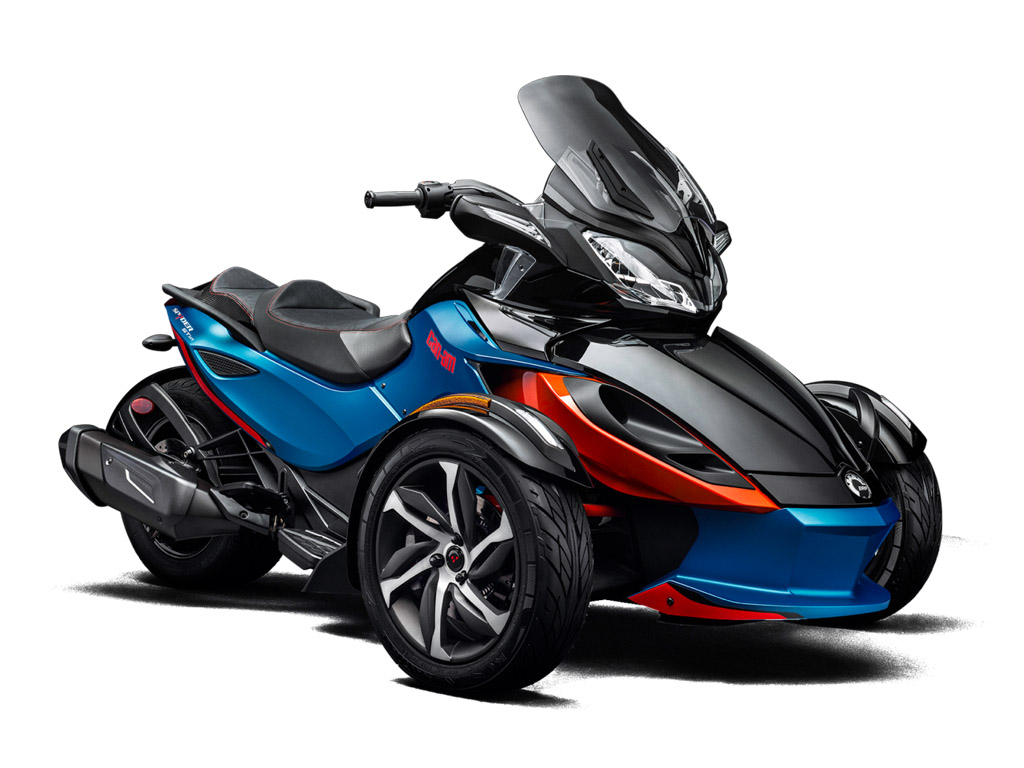2015 2016 can am spyder st s review top speed for Can am spyder motor