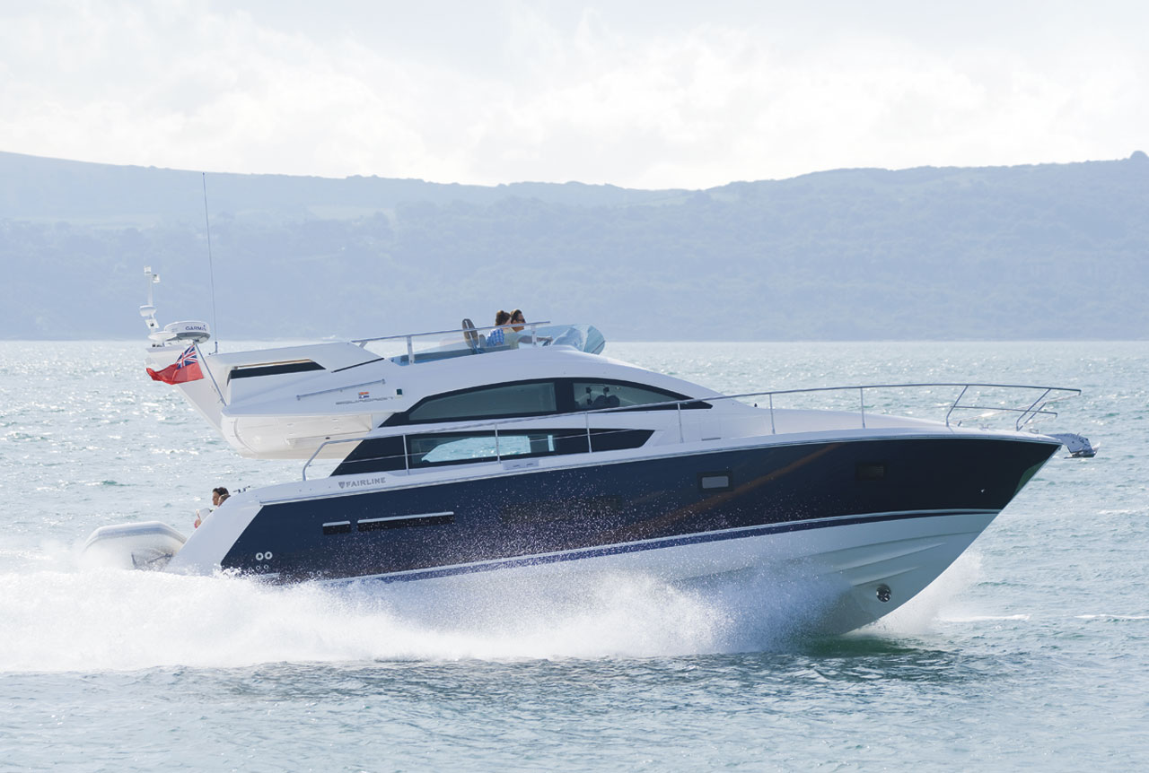 fairline squadron  top speed