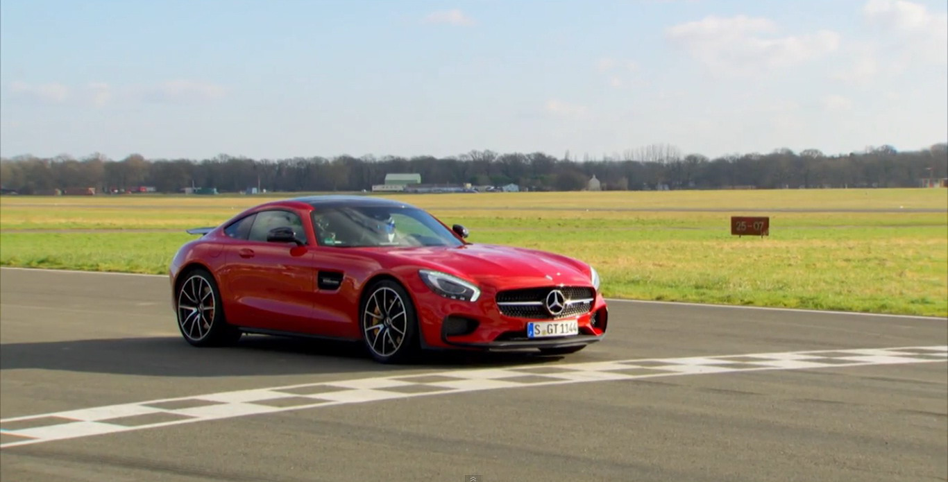 mercedes amg gt s the fastest mercedes around top gear track video news top speed. Black Bedroom Furniture Sets. Home Design Ideas