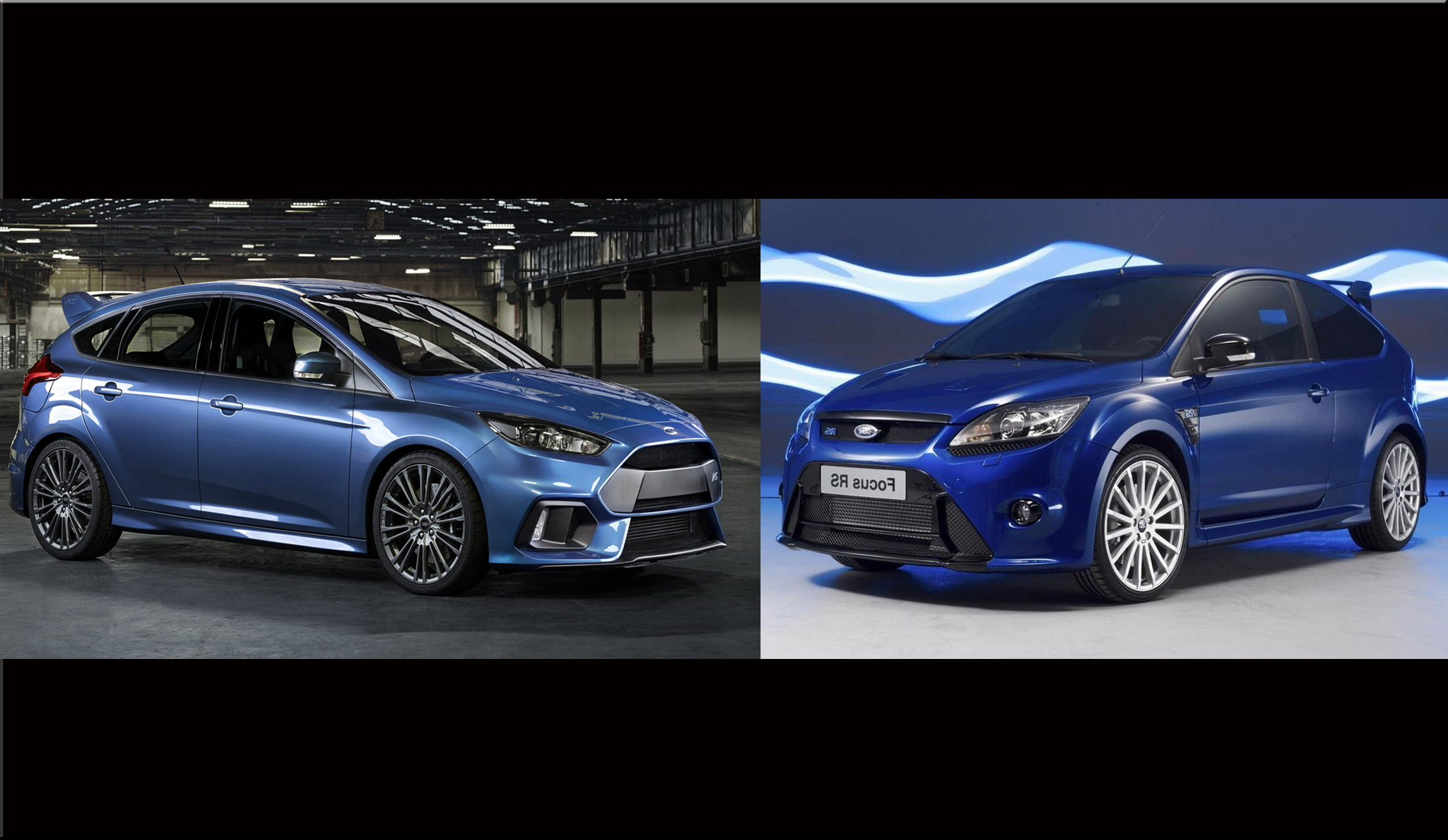 Ford Focus Rs New Vs Old Top Speed