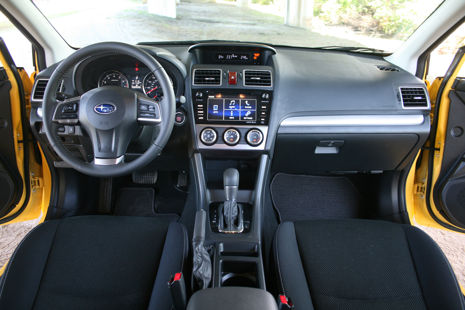 2015 subaru xv crosstrek - driven review - top speed