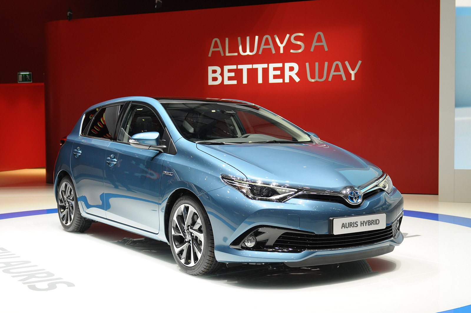 2015 Toyota Auris Top Speed