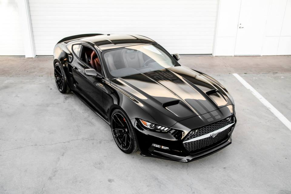 2016 ford mustang rocket by henrik fisker and galpin auto sports