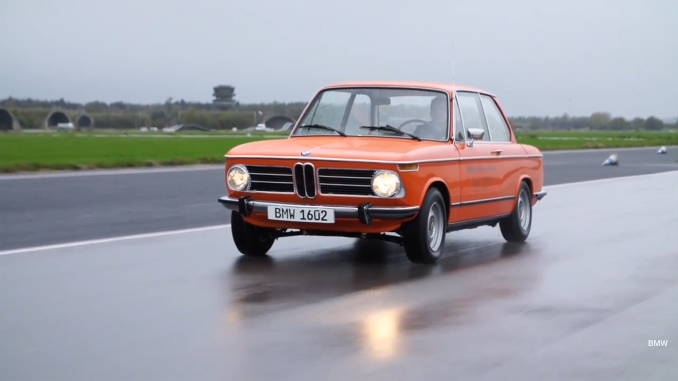 Bmw Showcases Its First Electric Car The 1972 1602e Video Gallery