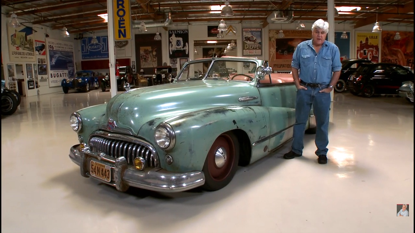 jay leno reviews icon derelict buick super convertible video news top speed