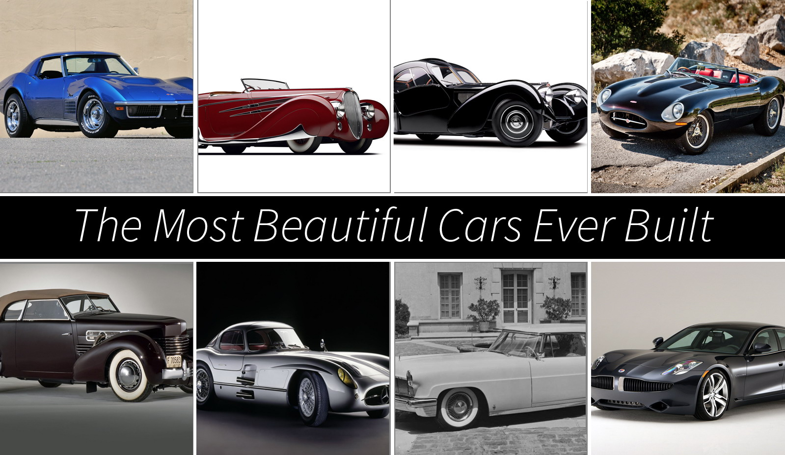 The Most Beautiful Cars Ever Built | Top Speed