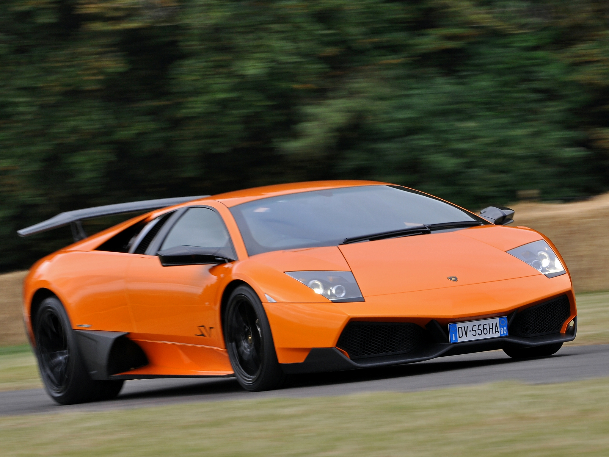 2009 2010 Lamborghini Murcielago Lp 670 4 Superveloce Top Speed