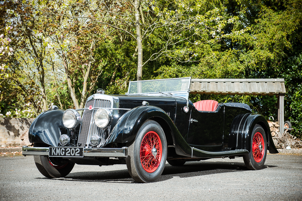 1937 aston martin 15/98 2l long chassis tourer | top speed