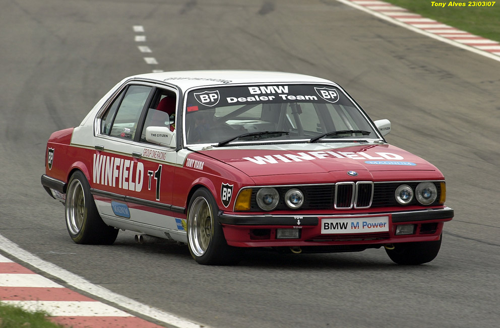 BMW 745i SA - The M7 You Never Knew Existed   Top Speed