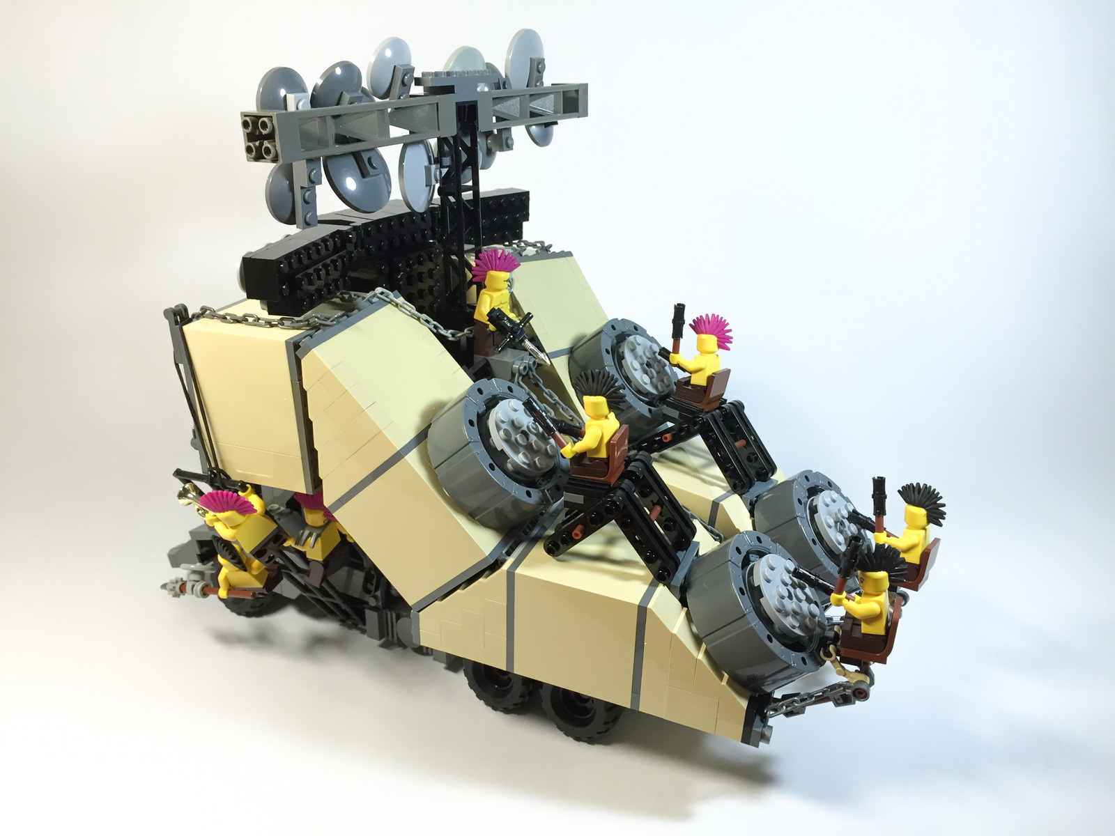 Mad Max Fury Road Cars Recreated In Lego World Top Speed