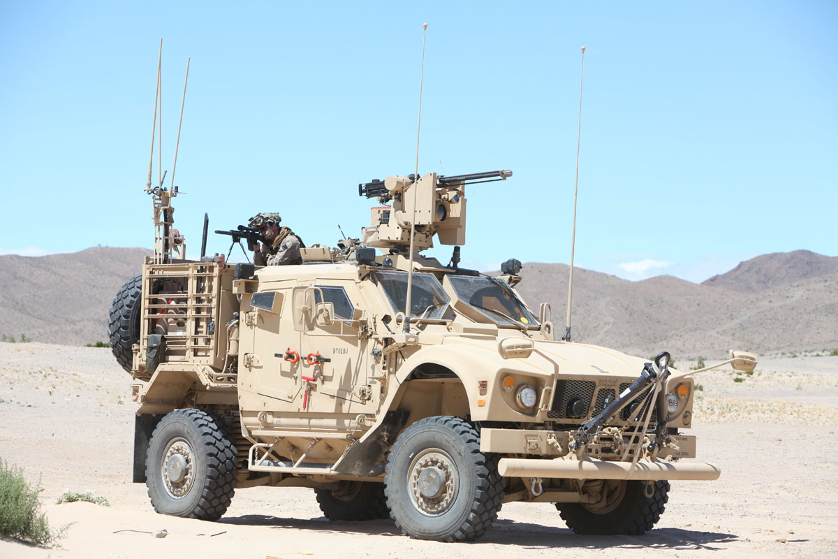 MRAP All-Terrain Vehicle (M-AT...
