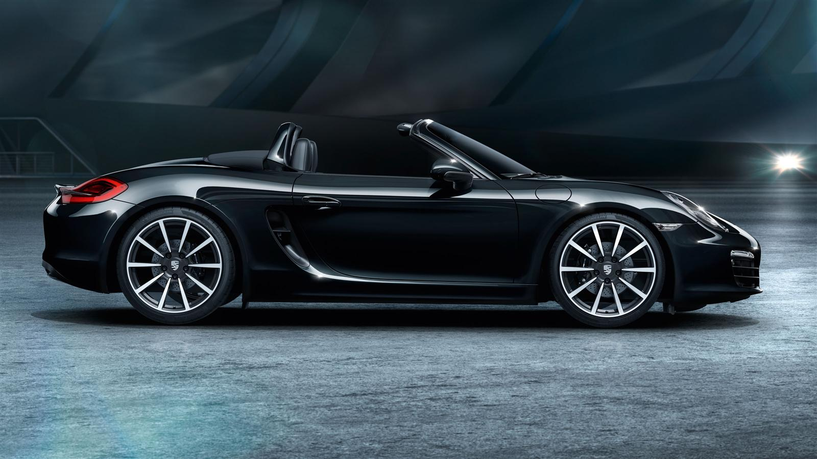 2016 porsche boxster black edition review top speed. Black Bedroom Furniture Sets. Home Design Ideas