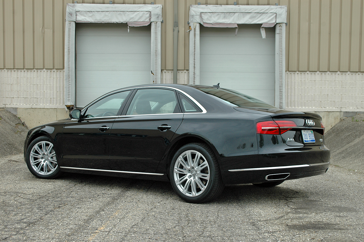 2015 Audi A8 - Driven | Top Speed