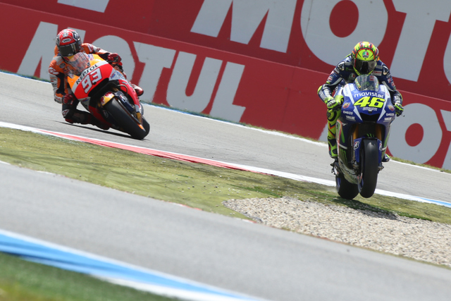 See See Motorcycles >> 2015 MotoGP Assen: Rossi Edges Marquez After Controversial Finish   Top Speed