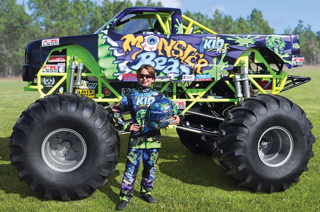 Pint Sized Monster Truck Is Perfect For The Kids Top Speed